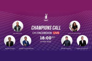 BetConstruct impulsa la realización de la Champions Call de VBet.