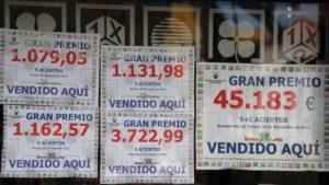 España: loterías calculan que venderán un 50% menos
