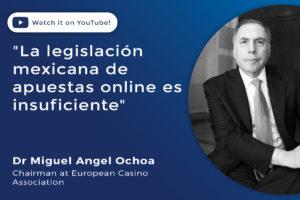 La legislación mexicana de apuestas online es insuficiente