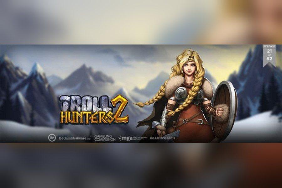 Play'n GO presentó el Troll Hunters 2, la secuela de un verdadero clásico de las slots.