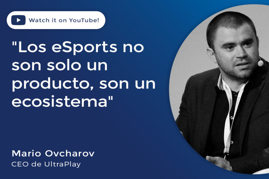 Mario Ovcharov, CEO de UltraPlay.