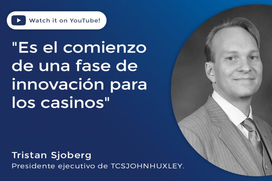 Tristan Sjoberg, presidente ejecutivo de TCSJOHNHUXLEY.