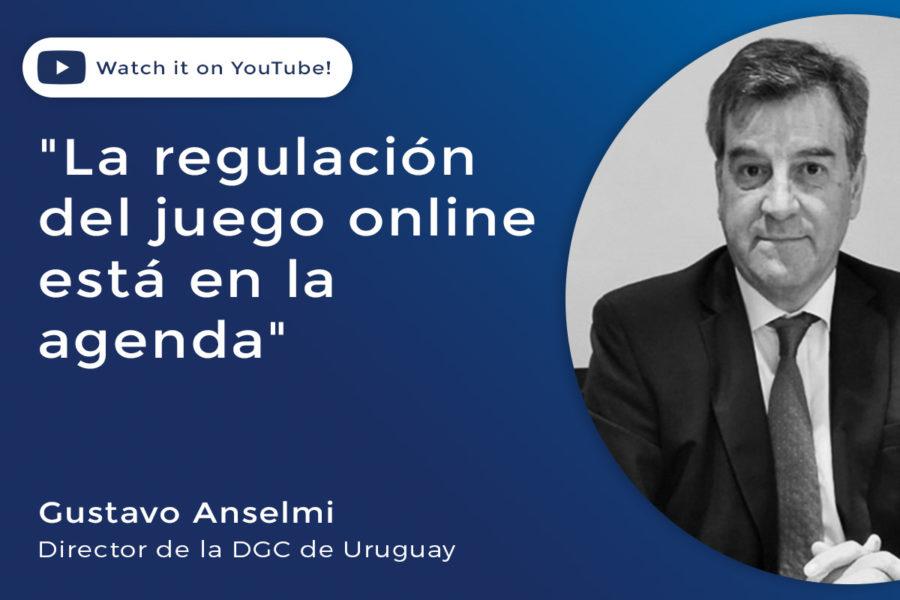 Gustavo Anselmi, titular de la Dirección General de Casinos de Uruguay.