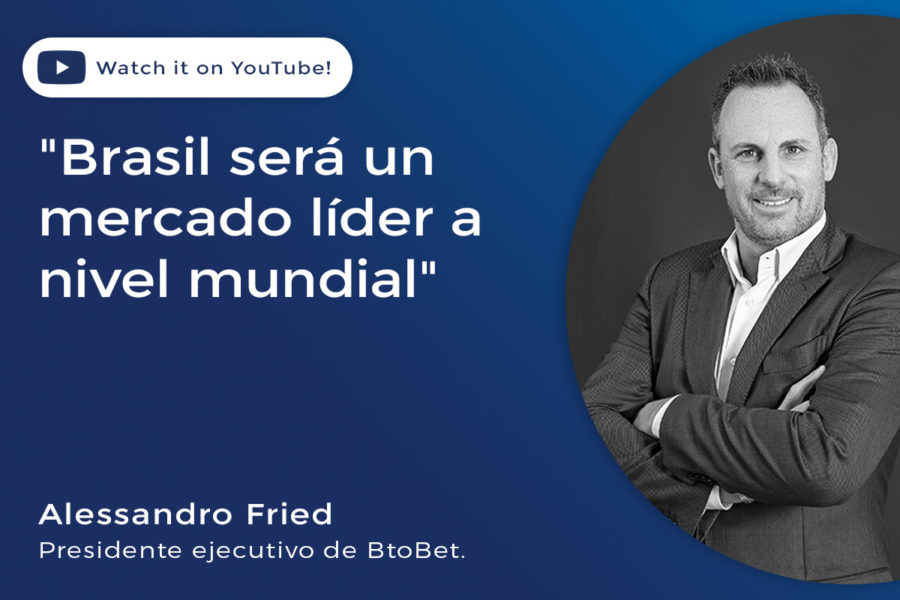 Alessandro Fried, presidente ejecutivo de BtoBet.