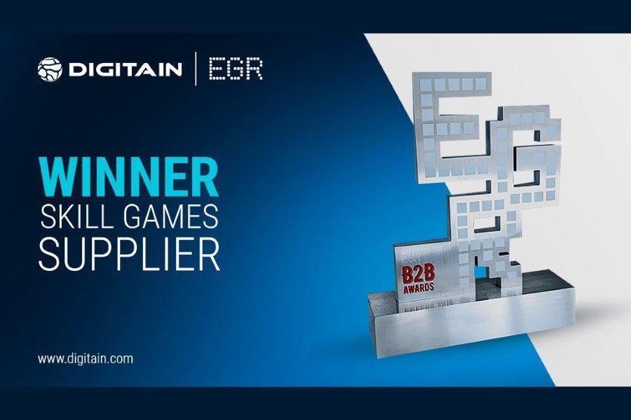 Digitain ganó en su categoría por segundo año consecutivo.