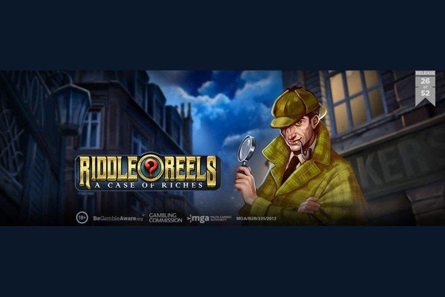 Riddle Reels: A Case of Riches se basa en Sherlock Holmes para traer una experiencia apasionante de la mano de Play'n GO.