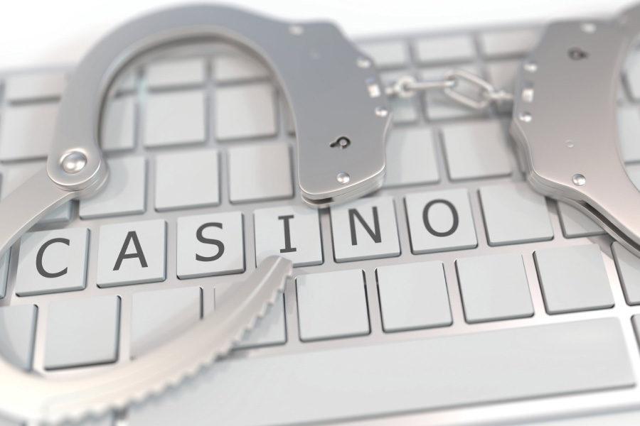 Las autoridades cerraron otro casino clandestino.