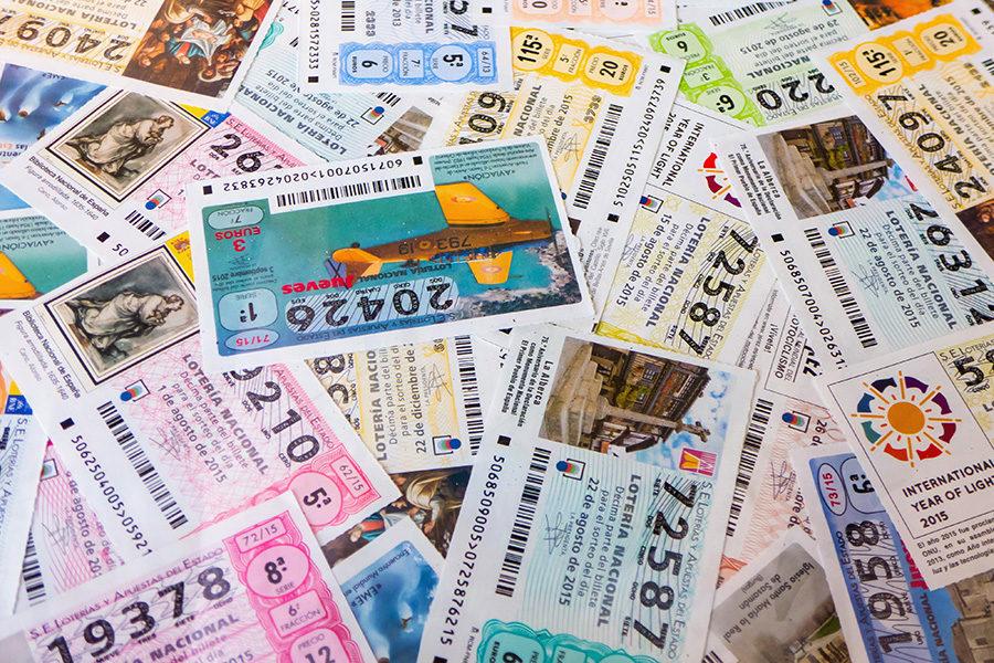 Cayeron los ingresos de la lotería en Costa Rica.