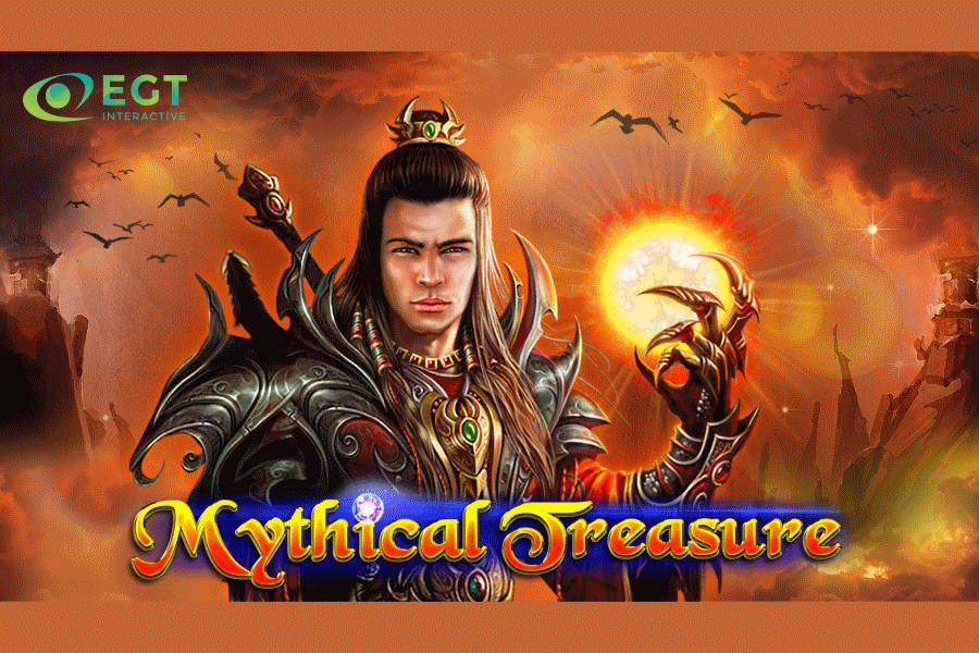 EGT Interactive presentó Mythical Treasure, su última video slot.
