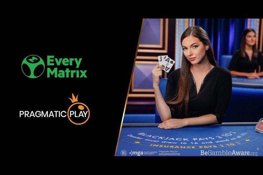 EveryMatrix ofrecerá los productos de Pragmatic Play en Latinoamérica.
