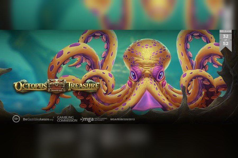 Octopus Treasure es el 32° lanzamiento de Play'n GO en 2020.