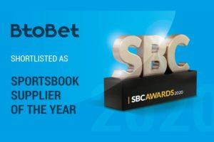 BtoBet quedó como finalista de los SBC Awards.