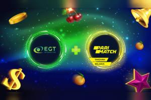 EGT Interactive y Parimatch trabajarán conjuntamente en Bielorrusia y Tanzania.