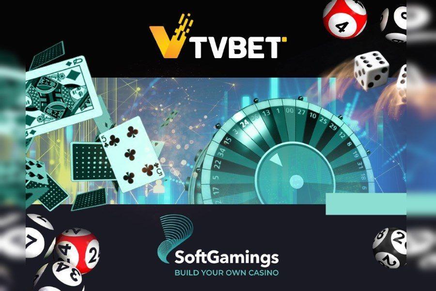 TVBET y Softgamings firmaron un acuerdo de colaboración.