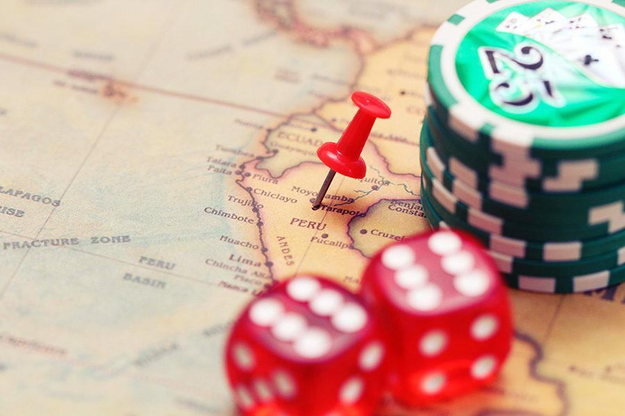 Los casinos en Perú no trabajan desde el inicio de la cuarentena, a principios de 2020.