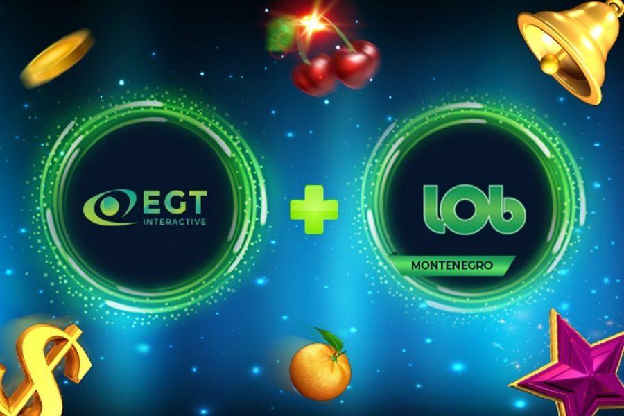 EGT Interactive se asocia con Lobbet y se expande en Montenegro.
