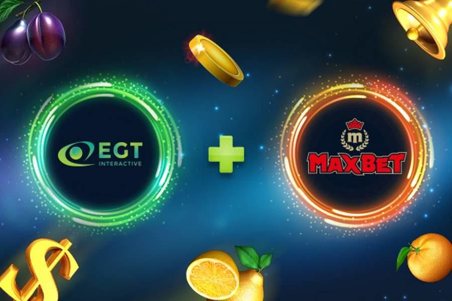 EGT Interactive y Maxbet expanden su colaboración.