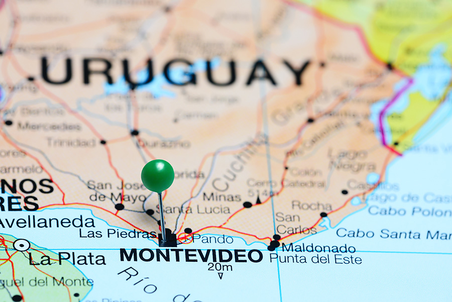 El Casino Costa Urbana está a minutos del centro de Montevideo.