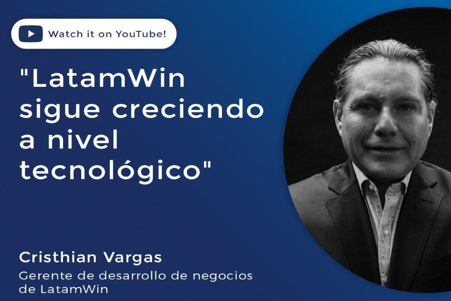 Cristhian Acuña, de LatamWin, analizó el mercado latino de juego online.