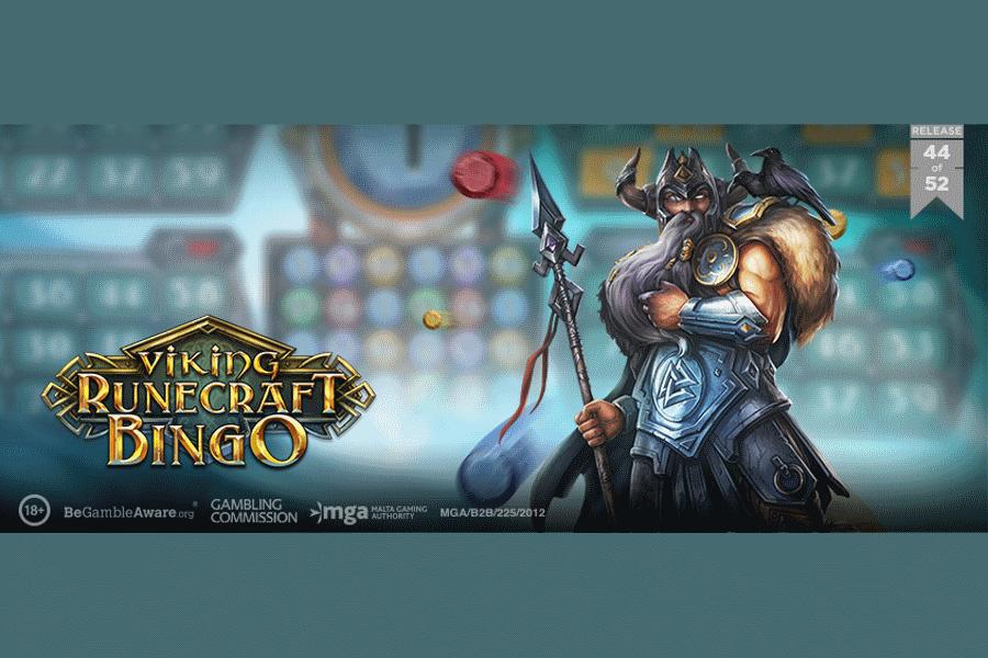 Play'n GO lanzó Viking Runecraft Bingo y Rise of Athena.