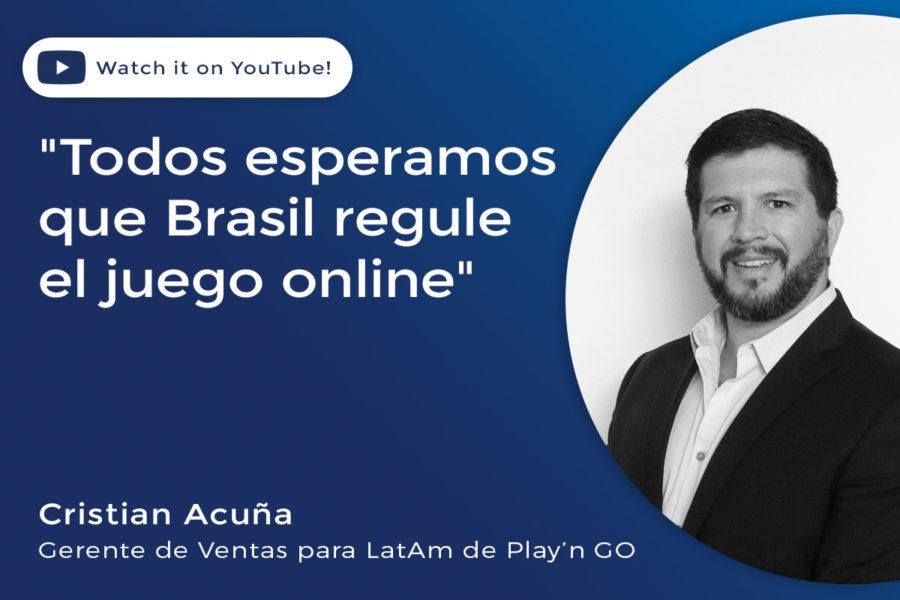 Cristian Acuña, Gerente de Ventas para LatAm de Play'n GO.