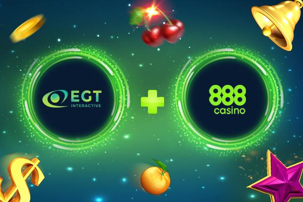 EGT Interactive y 888 Holdings firmaron un contrato clave de colaboración.