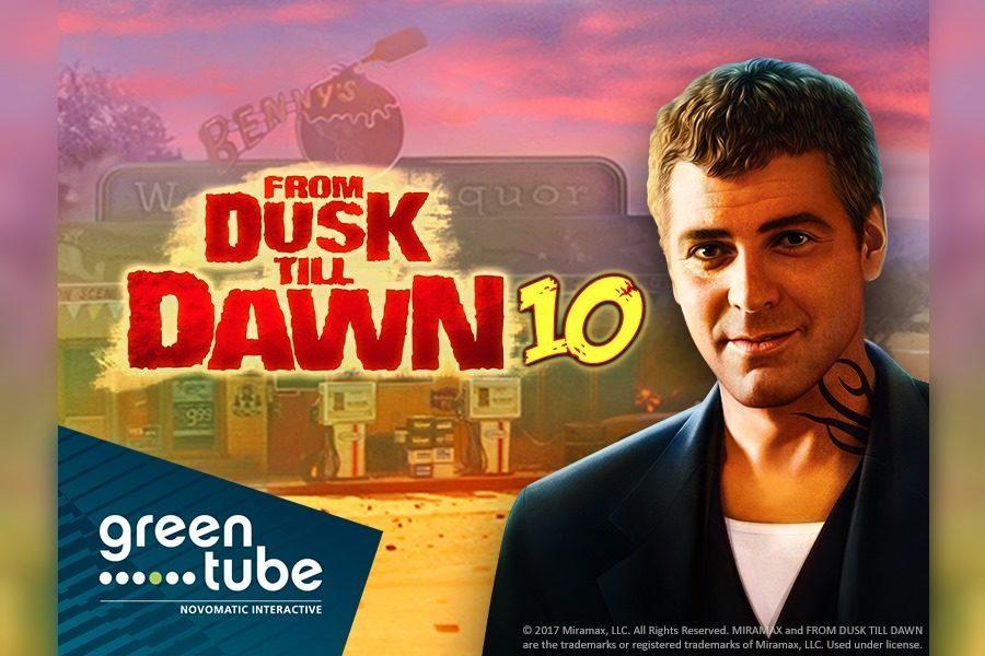 From Dusk Till Dawn 10 es lo último de Greentube, basado en un clásico de Tarantino.
