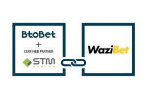 BtoBet se asocia con Wazibet en África