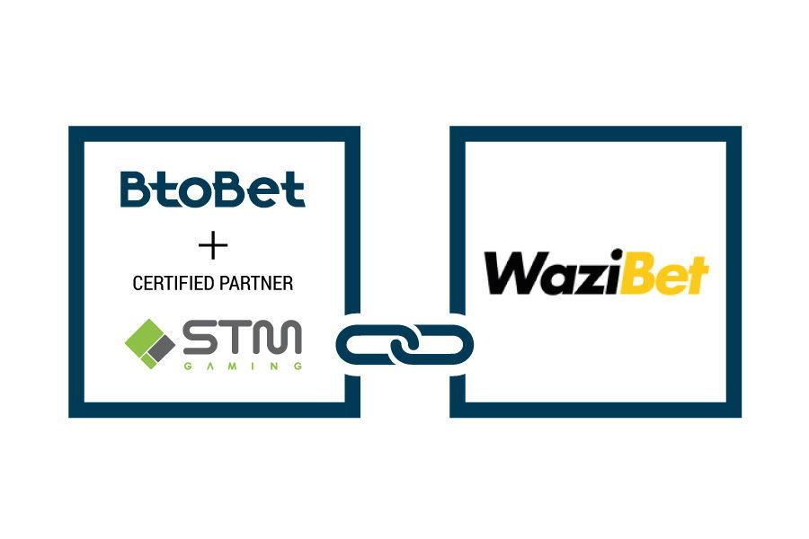 BtoBet se asoció con WaziBet.