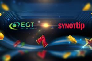 EGT Interactive lleva su catálogo completo a República Checa con Synotipp.