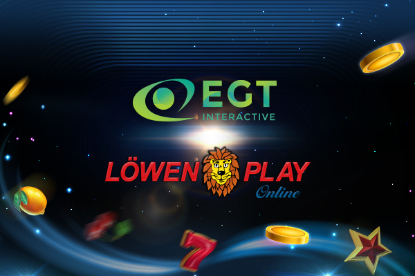 EGT Interactive firmó un acuerdo de contenido con Löwen Play.