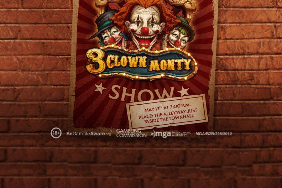 3 Clown Monty estará disponible a partir del 13 de mayo.