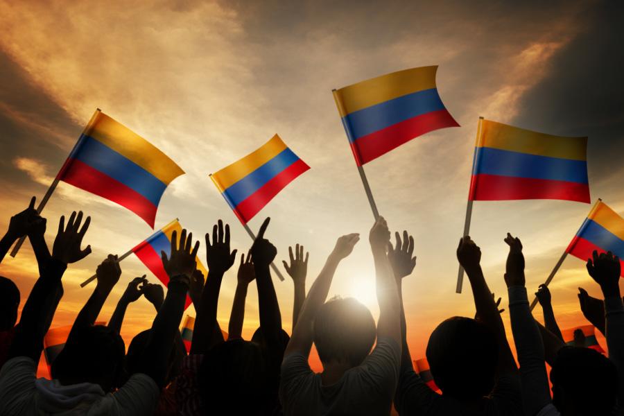 Colombia atraviesa una grave crisis social, con violentas manifestaciones.