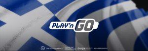 Play'n GO asegura una nueva licencia de proveedores griegos