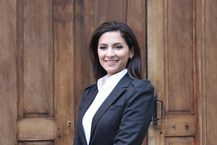 La nueva presidenta de la Asamblea Legislativa, Silvia Hernández Sánchez.