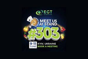 """EGT Interactive expondrá en la feria """"Entertainment Industry"""" de Ucrania"""