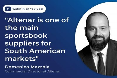 """""""Altenar es uno de los principales proveedores de apuestas deportivas en Sudamérica"""""""