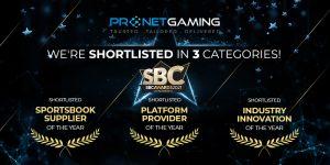 """Pronet Gaming fue preseleccionado en tres categorías: """"Proveedor de plataforma del año"""", """"Proveedor de apuestas deportivas del año"""" e """"Innovación industrial del año""""."""