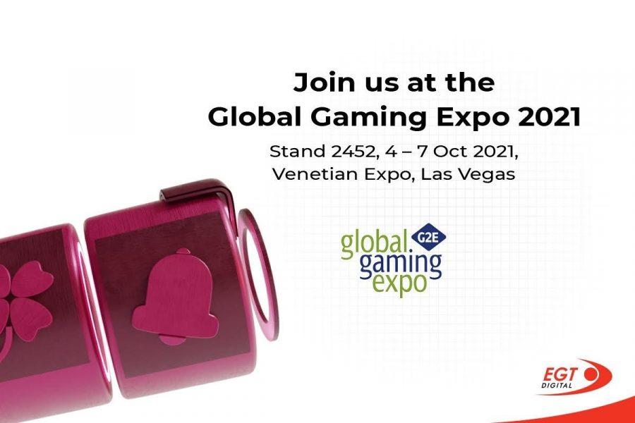 G2E se llevará a cabo entre el 4 y el 7 de octubre en Las Vegas.