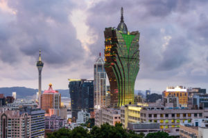 Macau casinos only shut down in September 2018, due to Typhoon Mangkhut.