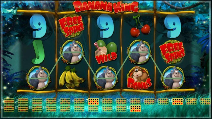 A lucky player won €135k while playing Banana King HD.