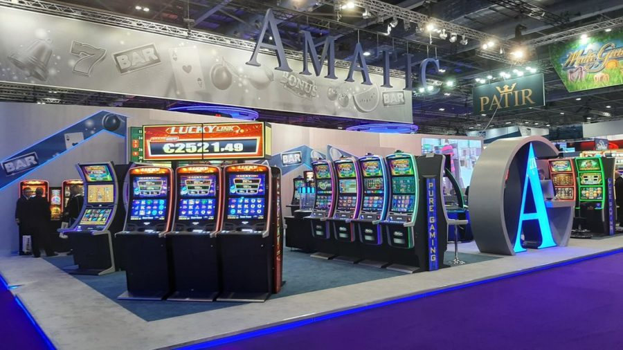AMATIC Industries presented at ICE London the LUCKY LINK.