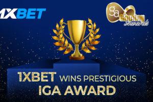 1xBet IGA Award