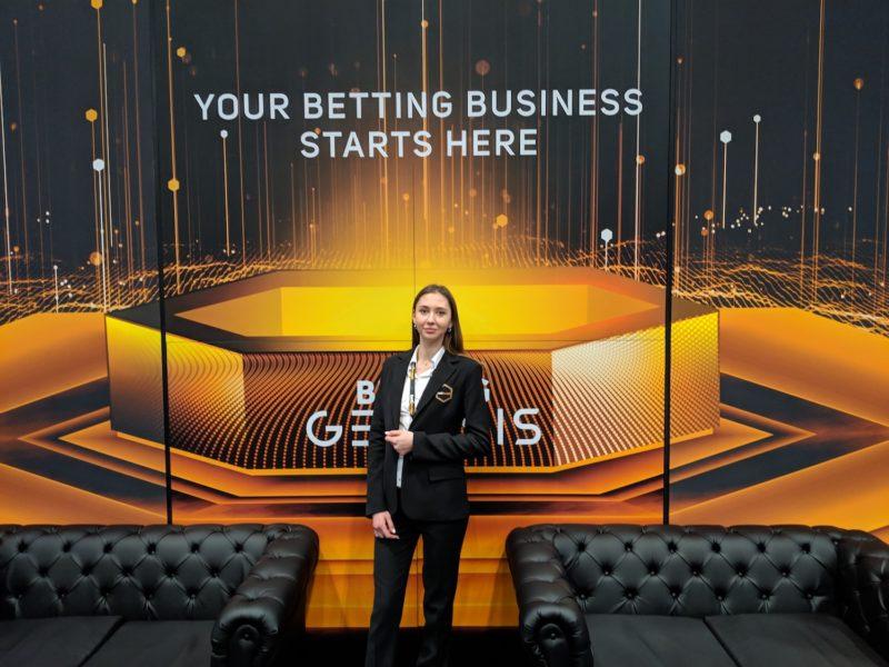 Alexandra Kalchuck, Betinvest's Business Development Manager.