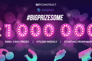 BetConstruct Announces a €1,000,000 Prize Pool Casino Tournament