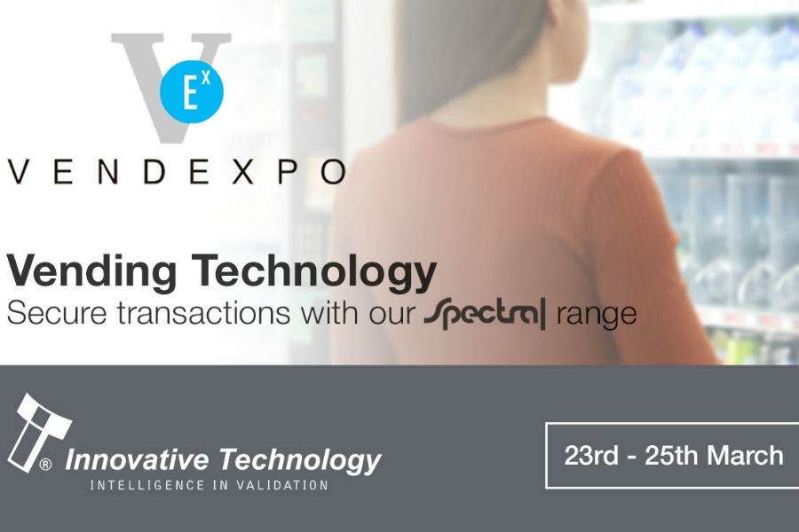 Innovative Technology will demo their range of vending products designed specifically for this market