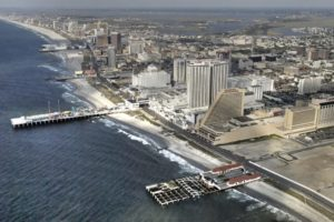 Casino revenue in Atlantic City fell dramatically in April.
