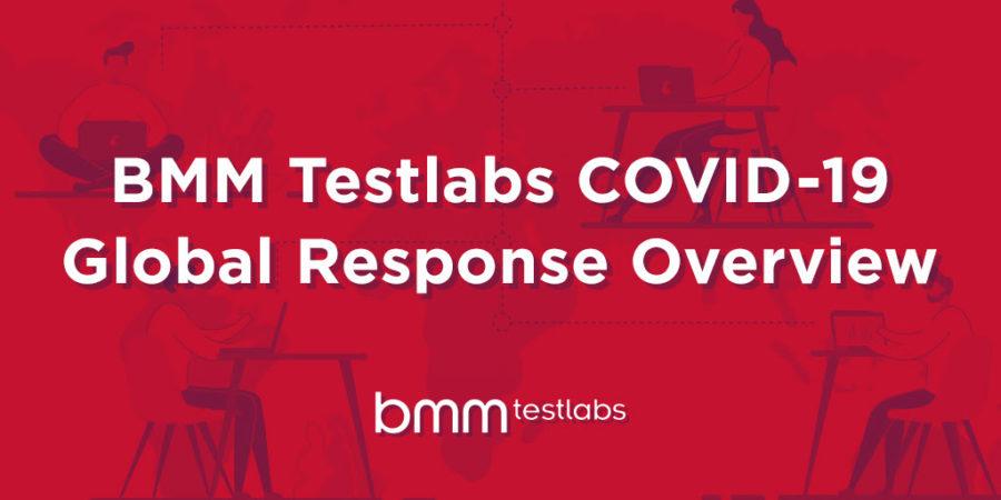 BMM Testlabs COVID-19 Global Response