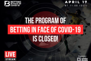 Betting in face of COVID-19 announces its latest program