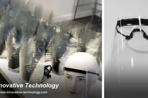 Innovative Technology produces thousands of face shields for healthcare staff
